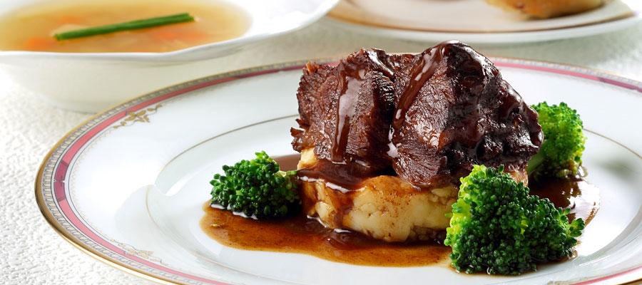 牛ほほ肉赤ワイン煮ディナー