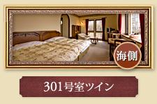 301号室ツイン