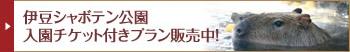伊豆シャボテン公園 入園チケット付きプラン販売中!